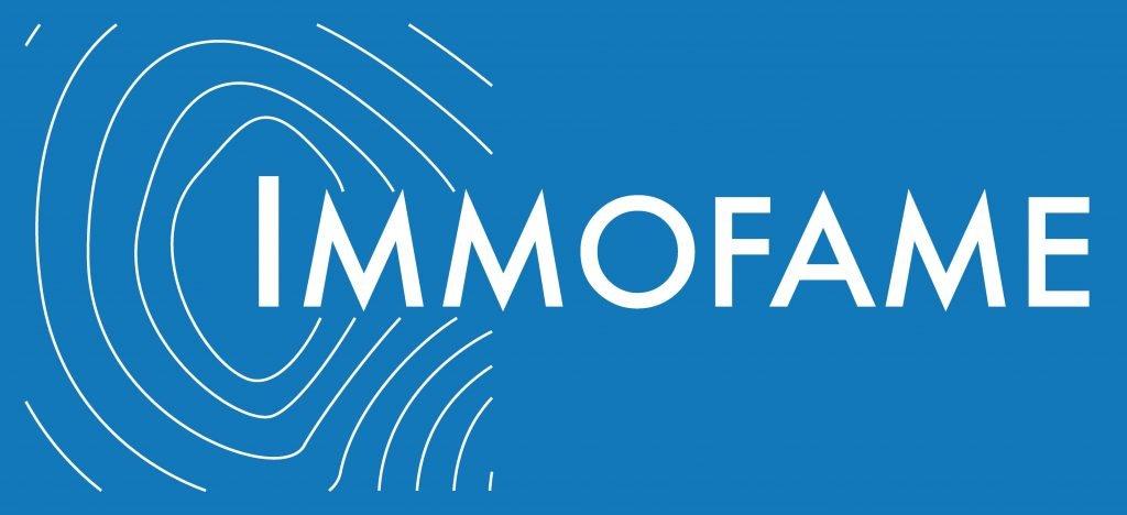Logo Immofame bleu copie